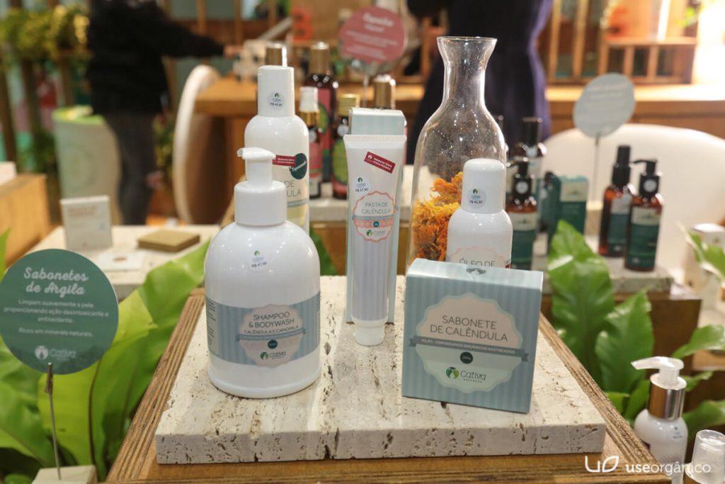 Cativa lanca Maquiagem Oleos Vegetais e amplia sua Linha de Produtos Naturais Organicos e Veganos