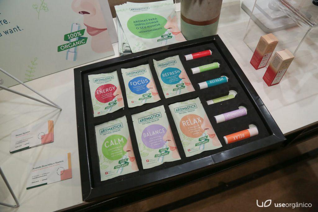 Grupo Biouté apresenta os lançamentos de Inaladores Aromastick e Maquiagens Naturais Benecos