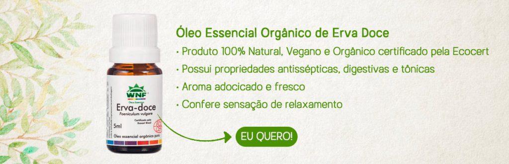 Óleo Essencial Orgânico de Erva Doce 5ml – WNF