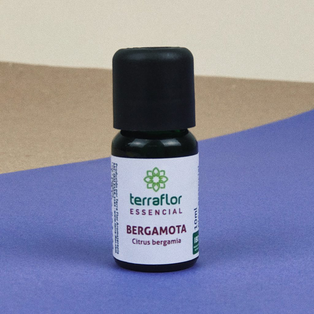 Óleo Essencial Natural de Bergamota 10ml – Terra Flor