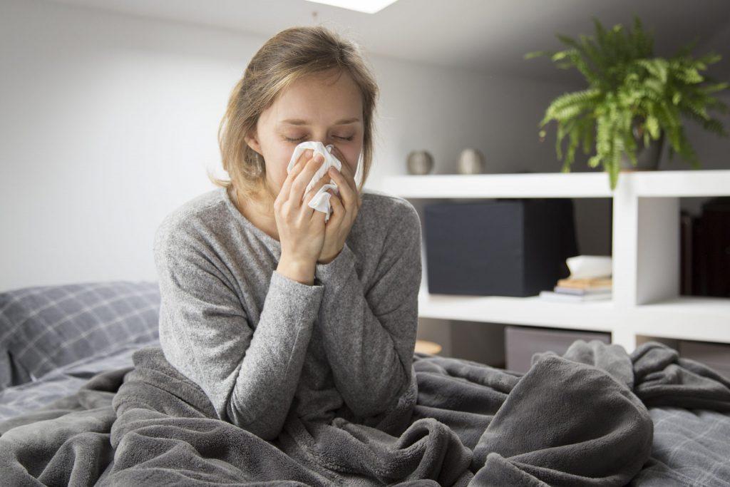 aromaterapia antiviral