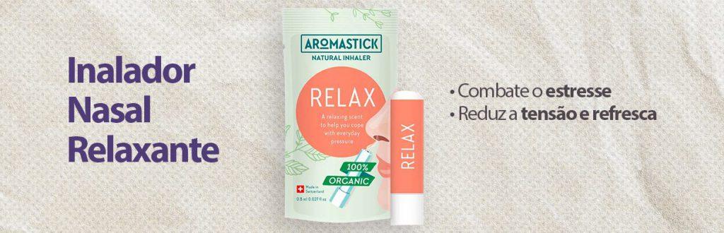 Inalador Nasal Relaxante